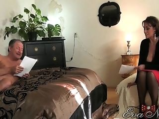 Cop, Couple, Eva Notty, Face Fucking, MILF, Pornstar, Rough,