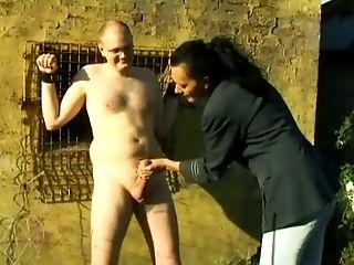Freay amateur video of a mature couple with bondage fetish