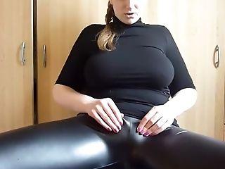 Amateur, Big Tits, Cameltoe, Close Up, German, Masturbation, Solo, Webcam,