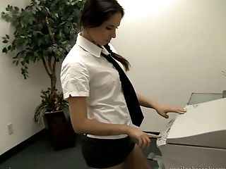 Lovely Latina girlfriend is really into being fucked well by her stud