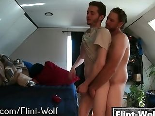 Horny Twink Fucked by Larger Man