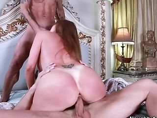 Anal Sex, Big Ass, Big Cock, Big Tits, Cute, Darla Crane, Double Penetration, Facial, Friend, Handjob,