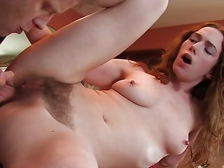 Sweet Sammy Grand gets her tight pussy plowed on the floor