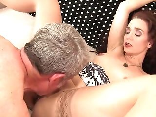 Horny pornstar Sable Renae in hottest facial, redhead porn video