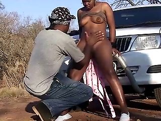 African, Amateur, Black, Hardcore, Nature, Outdoor,