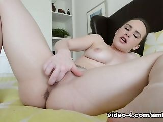 Incredible pornstar Alessandra Noir in Exotic Masturbation, College porn clip