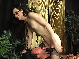 The best role for Stefani Special is a sex slave and all poses you can imagine
