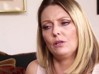 Amazing pornstars Brenda James and Sabrina Star in horny milf, big tits sex clip