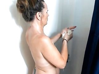 #PHMILF Dirty mommy gets pissed when you spy on her in the shower