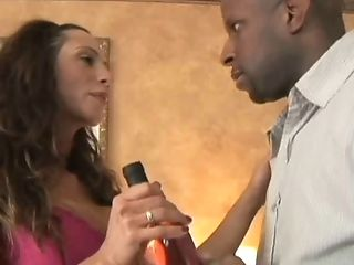 Ariella Ferrera seduces a black lover for an interracial fuck