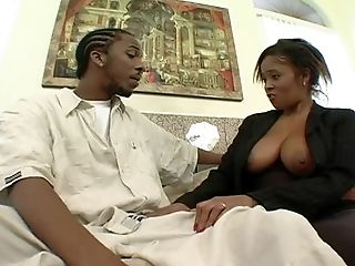 Jeannie Pepper offers her fine curves to a nasty black guy