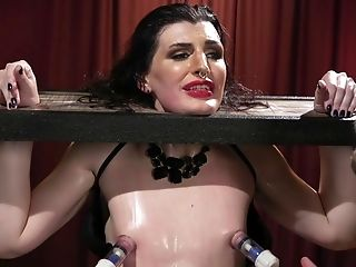 A torture and bdsm is amazing experience for tranny Allysa Etain