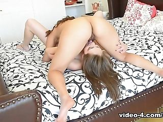 Crazy pornstars Nickey Huntsman, Blair Summers in Hottest Fingering, Lesbian adult scene
