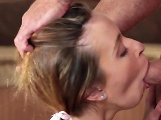 Young Kylie Nicole gets to swallow big time