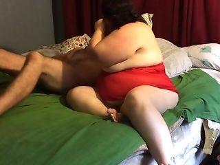 Bbw wife lingerie fuck