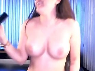 Big Boobed Brunette Lori Shows Off Her Sexy Body