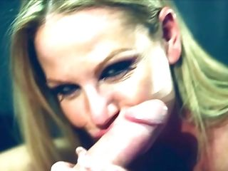 Kinky blowjob session with alluring blonde MILF Kelly Madison