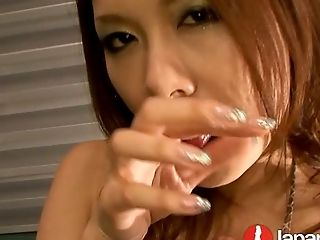 Buxom Japanese hoe Miharu Kai knows what blowgang means