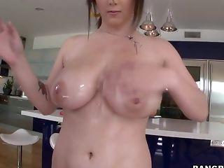 Teen printing her big beautiful natural tits