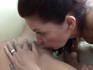 Beautiful Big Clit Redhead Lesbian Sex
