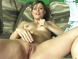 Cute Katie Thomas makes a black pecker disappear in her mouth