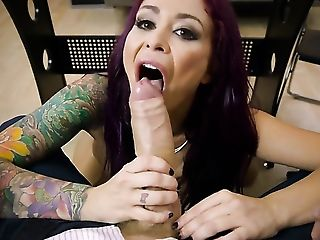 Danny D gets pleasure from fucking Redhead Monique Alexander with giant boobs