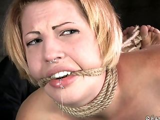 Will Kay be able to handle such a rough BDSM treatment?