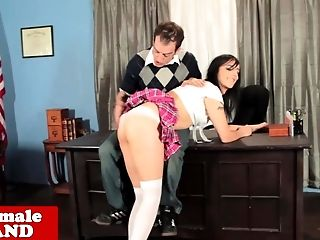 Bareback, Blowjob, HD, Schoolgirl, Shemale, Slap, Tranny,