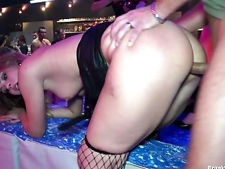 Drunk girls will do anything for dick at the club