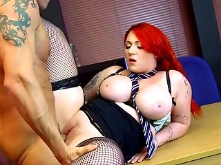 Harmony Reigns fucked hard and jizzed on both her amazing tits